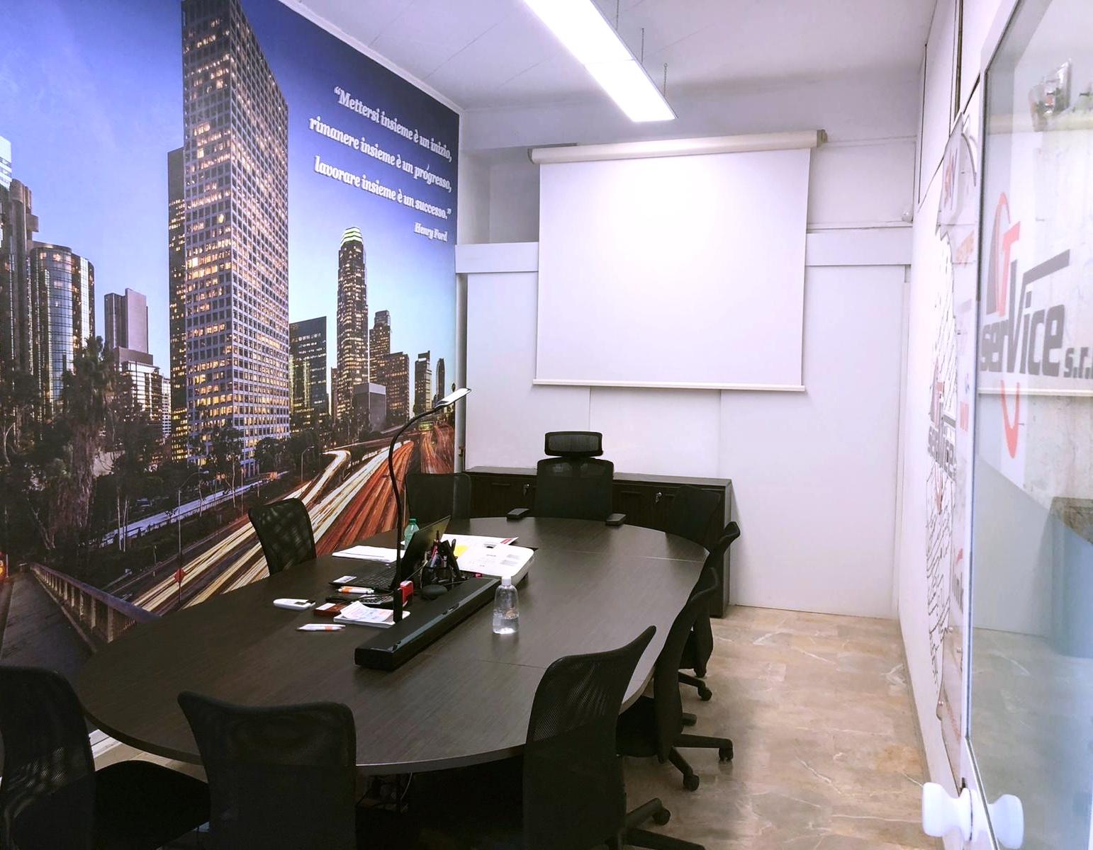 TV Service sala riunione